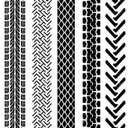 Motorcycle clipart tire tread