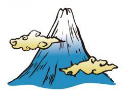 Mount Fuji clipart mount olympus