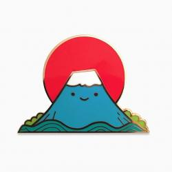 Mount Fuji clipart peak