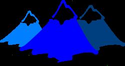 Peak clipart mountain range