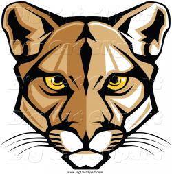 Puma clipart eyes
