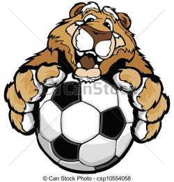 Soccer clipart cougar