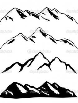 Mountain Ridge clipart colorado mountain