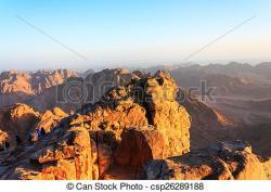 Mountain Ridge clipart dawn
