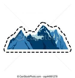 Mountain Ridge clipart hill