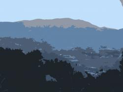 Mountain Ridge clipart mountain scene