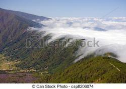 Mountain Ridge clipart valley