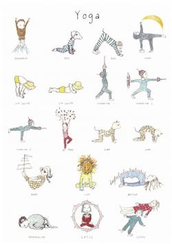 Moves clipart child yoga
