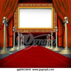 Red Carpet clipart marquee