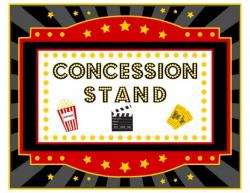 Movie clipart concession stand