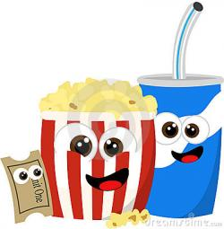 Popcorn clipart concession stand