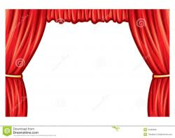 Theatre clipart curtain