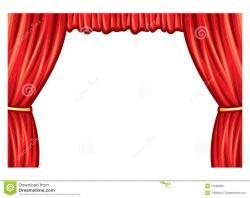 Theatre clipart curtain