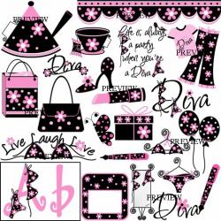 Movie clipart diva in