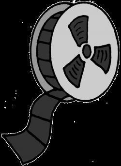 Vireo clipart film reel