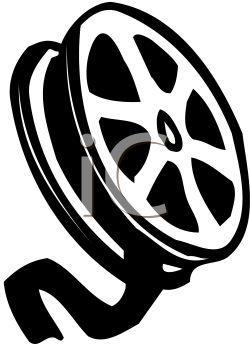 Movie clipart film roll