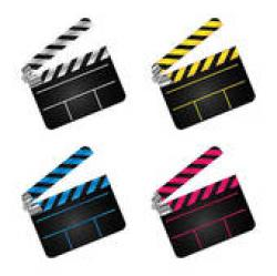 Movie clipart marker board