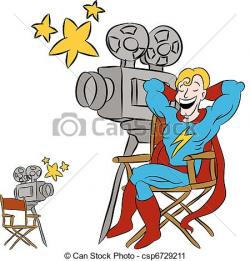 Actor clipart movie star