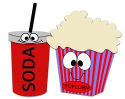 Movie clipart movie snack