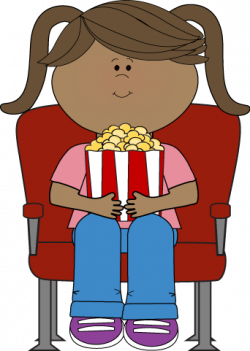 Movie clipart movie theater