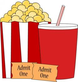 Popcorn clipart movie theater popcorn