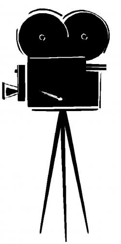 Movie clipart old fashioned