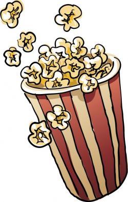 Movie clipart popcorn bowl
