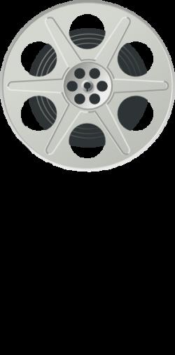 Movie clipart roll vector