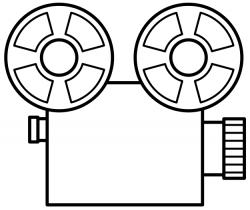 Lens clipart movie camera