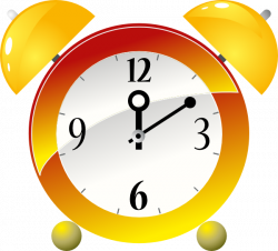 Moving clipart alarm clock