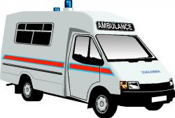 Moving clipart ambulance