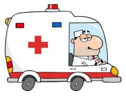 Emergency clipart ambulance driver