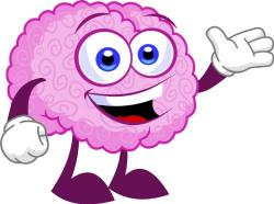Brains clipart cute