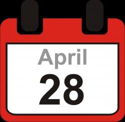 Date clipart month calendar