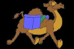 Camels clipart funny