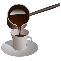 Moving clipart coffee