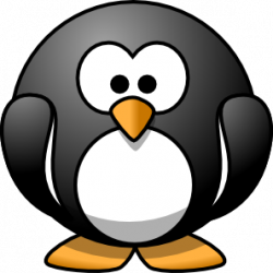 Emperor Penguin clipart comic