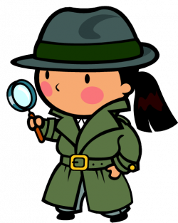 Situation clipart detective woman