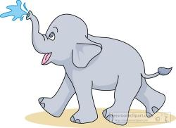 Asian Elephant clipart cute elephant