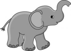 Moving clipart elephant