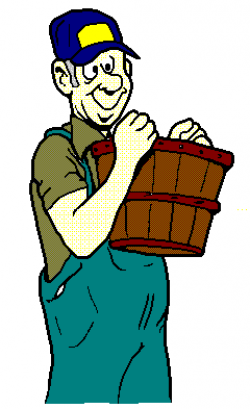 Moving clipart farmer