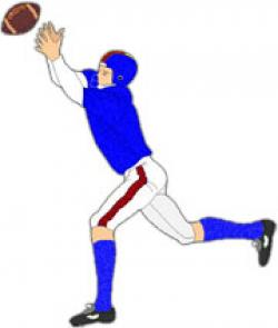 Receiver clipart cool football