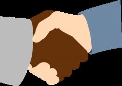 Moving clipart handshake