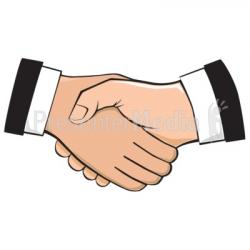 Professional clipart handshake