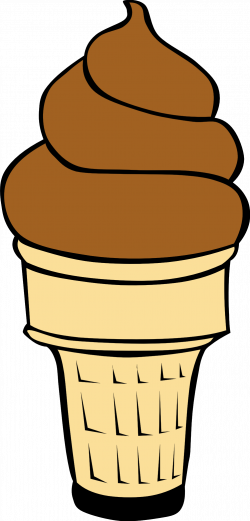 Dessert clipart brown objects