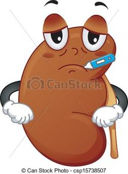 Moving clipart kidney