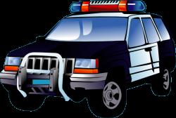 Police clipart police van