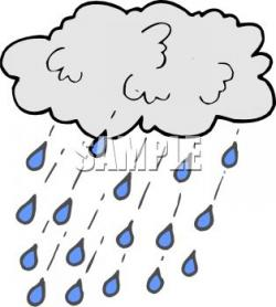 Moving clipart rain