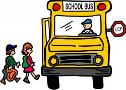 Stop clipart school bus stop