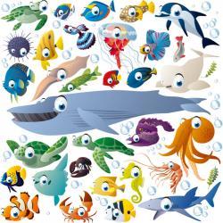 Weird clipart sea creature
